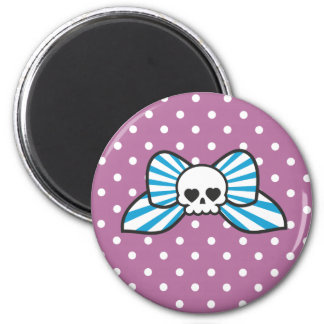 Skully Bow Magnet