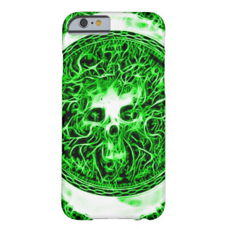 Skully Skull Death Faerie Fractal Barely There iPhone 6 Case