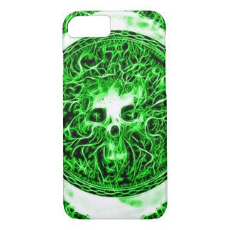 Skully Skull Death Faerie Fractal iPhone 7 Case