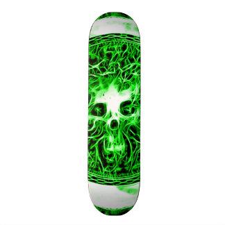 Skully Skull Death Faerie Custom Skateboard