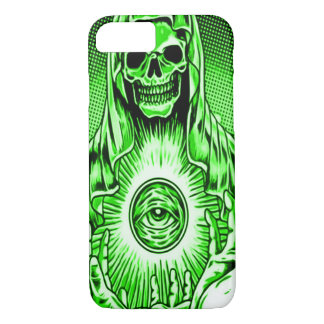 Skully Skull Evil Ghost Eye iPhone 7 Case