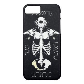 Skully Skull Werewolf Tribal Grunge Art iPhone 7 Case