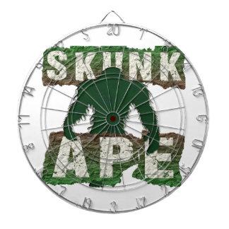 SKUNK APE DARTBOARD