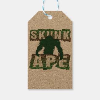 SKUNK APE GIFT TAGS