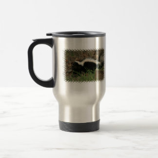 Skunk Behavior Travel Mug