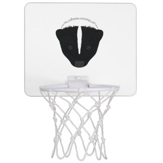 Skunk Face Mini Basketball Hoop
