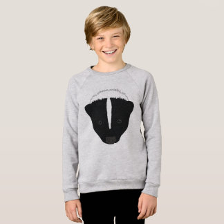 Skunk Face Sweatshirt