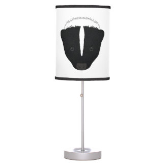 Skunk Face Table Lamp