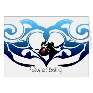 Skunk Love Card