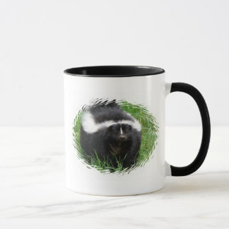 Skunk Photo Ceramic Coffee Mug