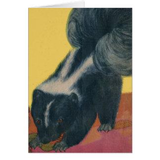 skunk print card