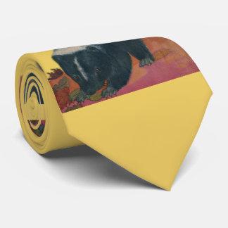 skunk print tie