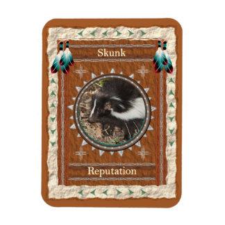 Skunk  -Reputation- Vinyl Flexi Magnet