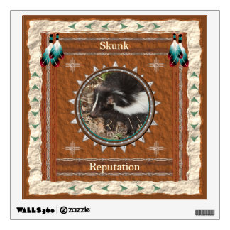 Skunk  -Reputation- Wall Decal