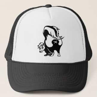 Skunk Trucker Hat