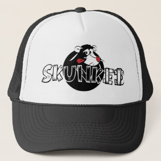 Skunked Skunk Trucker Hat