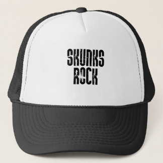 Skunks Rock Trucker Hat