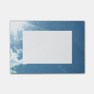 Sky 5992 - Sun and Clouds Post-it® Notes