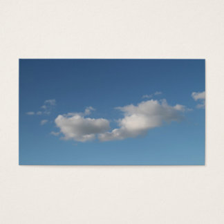 Sky and Clouds. Business Card