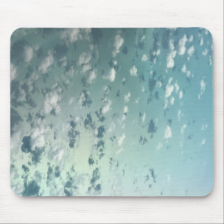 Sky and clouds mouse pad