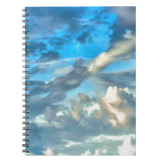 SKY AND CLOUDS PHOTO DESIGN Photo Notebook
