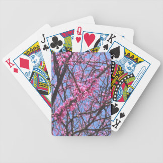 Sky and Flowers Poker Deck