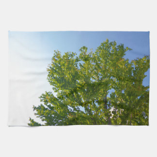 Sky and green Sky and green Kitchen Towel