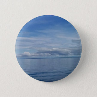 Sky and Ocean Round Button