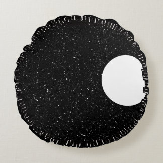 Sky at Night Round Pillow