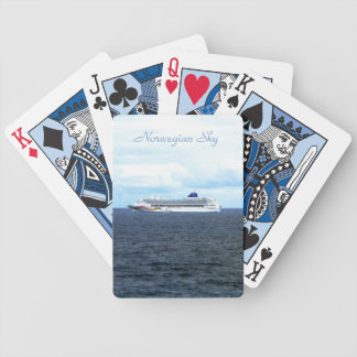 Sky at Sea Bicycle Playing Cards