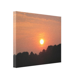 Sky at Sunset Canvas Print