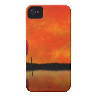 Sky Autumn Reflection iPhone 4 Cases