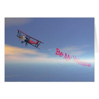Sky Banner valentine Card