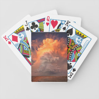 sky bicycle playing cards