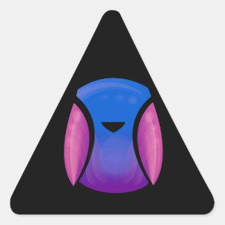 Sky Bird Triangle Sticker