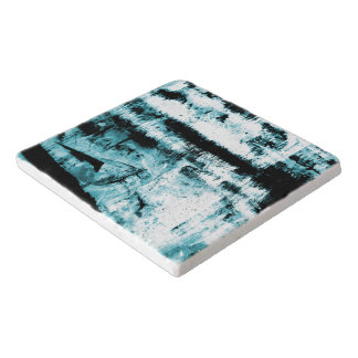 Sky Blue Abstraction Trivet