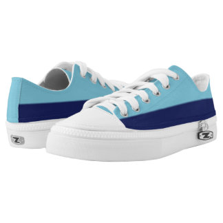 Sky Blue and NavyTwo-Tone Lo-Top