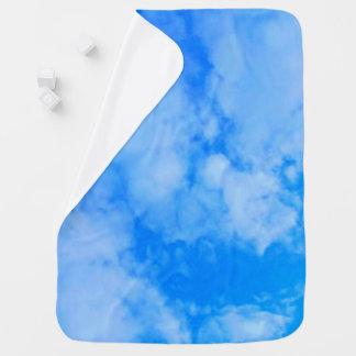 Sky blue Baby Blanket