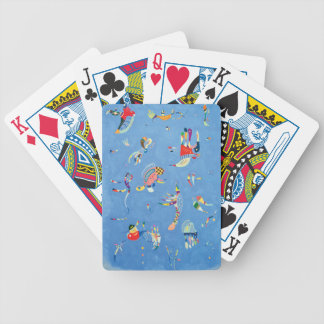 Sky Blue by Wassily Kandinsky Bicycle Playing Cards