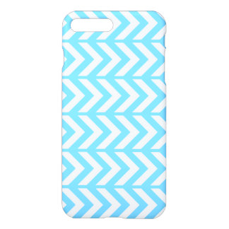 Sky Blue Chevron 3 iPhone 7 Plus Case