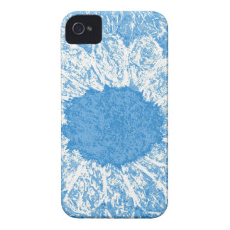 sky blue flower iPhone 4 cases