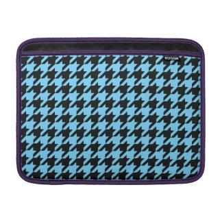 Sky Blue Houndstooth 2 MacBook Sleeves