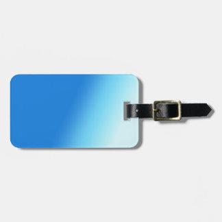 Sky Blue Luggage Tag