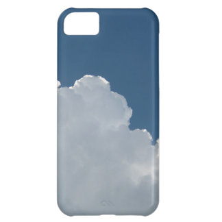 Sky Blue - Partly Cloudy iPhone 5C Cases