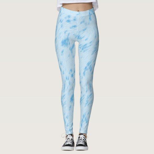 Sky Blue Pastel Leggings | Zazzle.ca