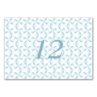 Sky Blue Pinwheels Card