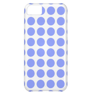 Sky Blue Polka Dots iPhone Case