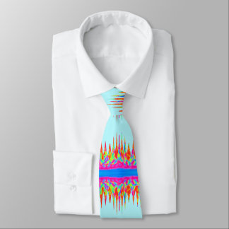 Sky Blue Rainbow Magic Colours Tie