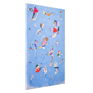 Sky Blue | Wassily Kandinsky Canvas Print