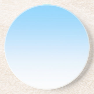 Sky Blue White Ombre Coaster